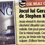National - Stephen King, Jocul lui Gerald