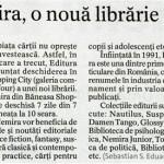 o noua librarie Nemira