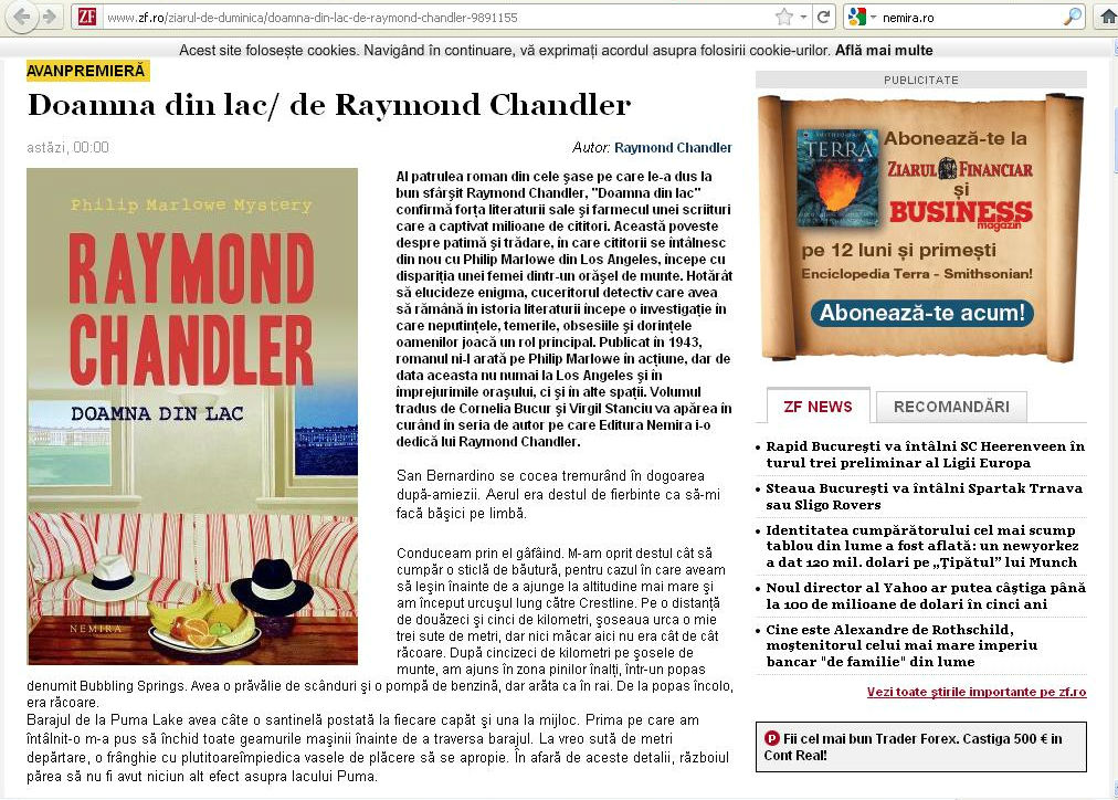 Chandler_Doamna din lac