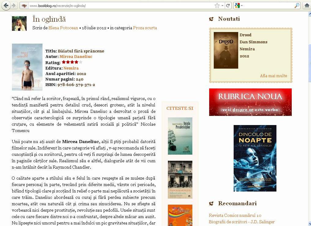 Mircea Daneliuc-Baiatul fara sprancene