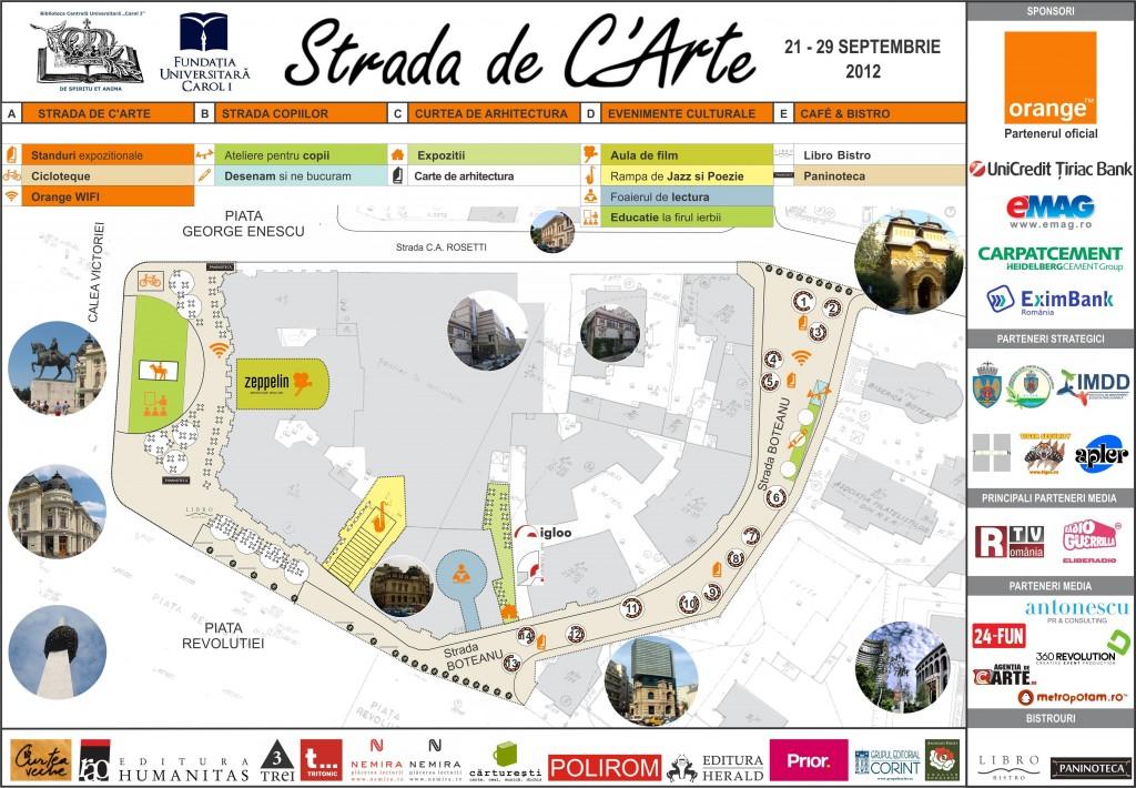 HARTA STRADA DE C'ARTE 2012
