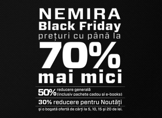 Black Friday Nemira. Gaudeamus 2012