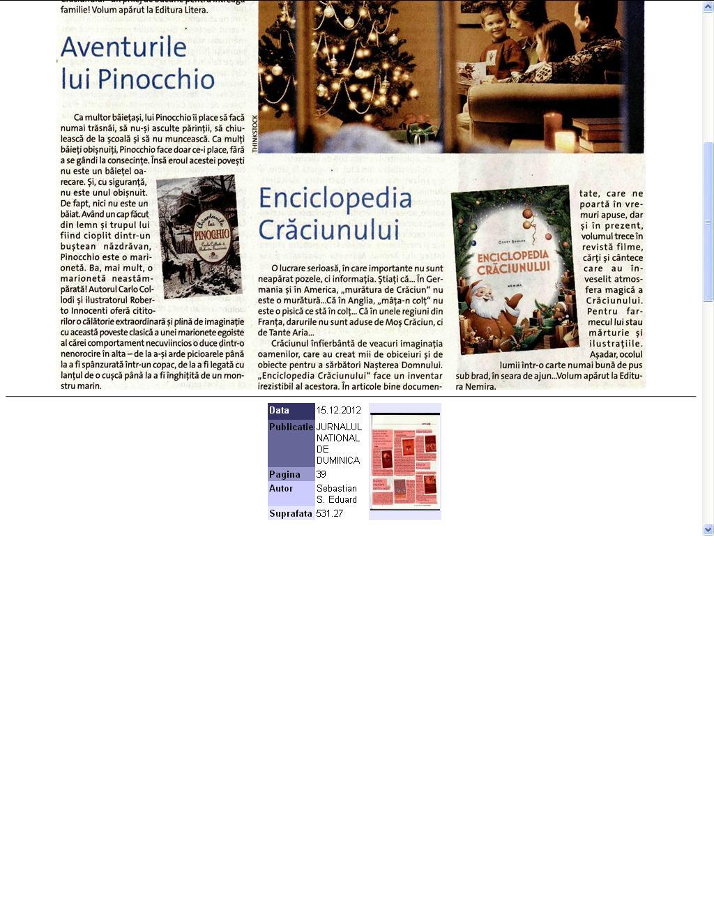 Enciclopedia Craciunului_Jurnalul National de Duminica