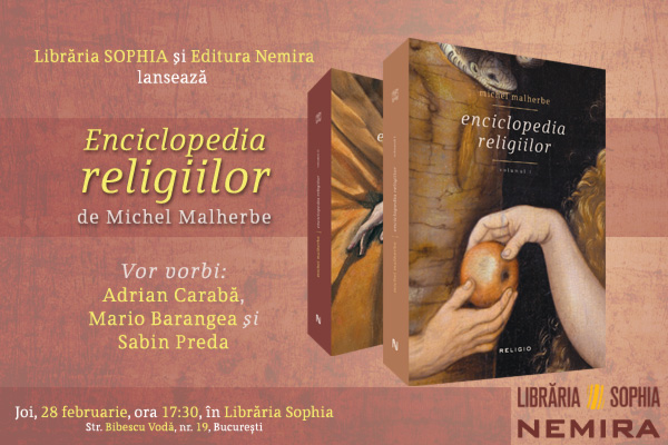 600p400 Lansare Enciclopedia religiilor