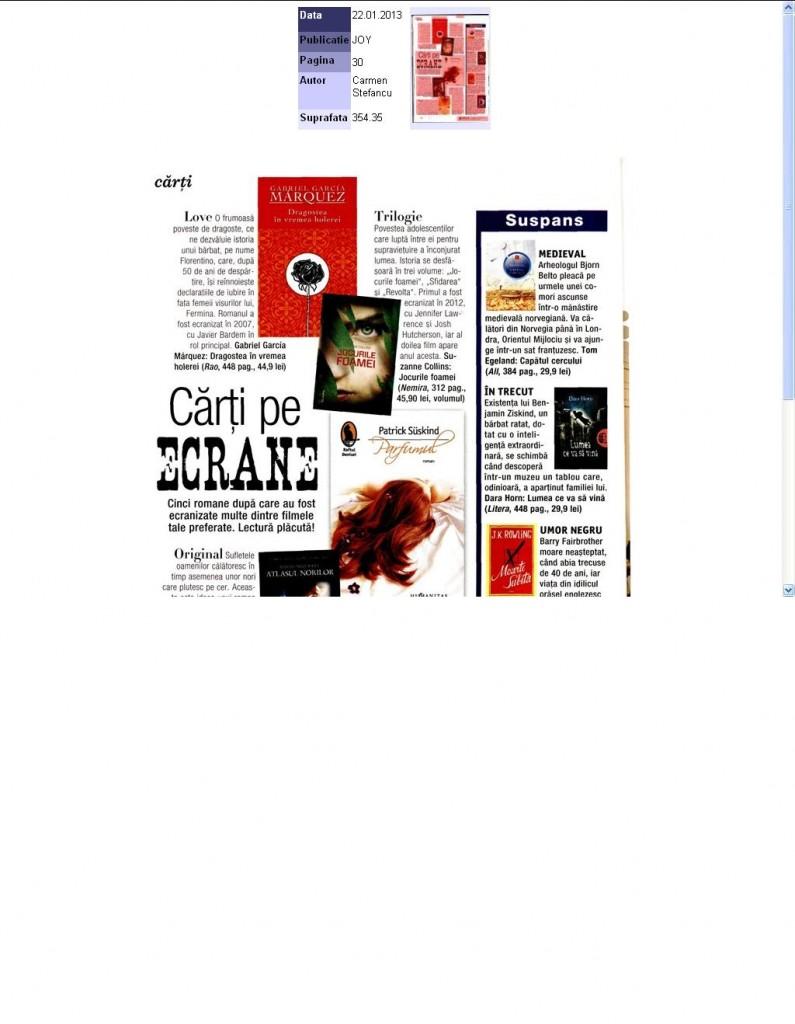 Carti pe ecrane_Revista Joy