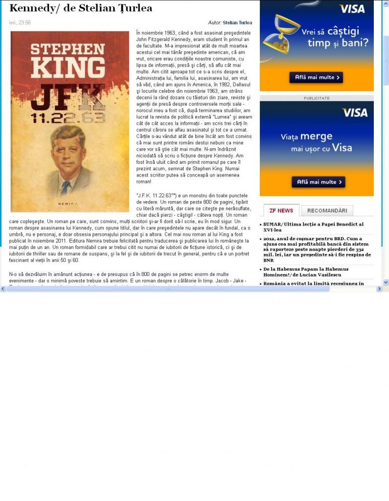 Kennedy - de Stelian Turlea