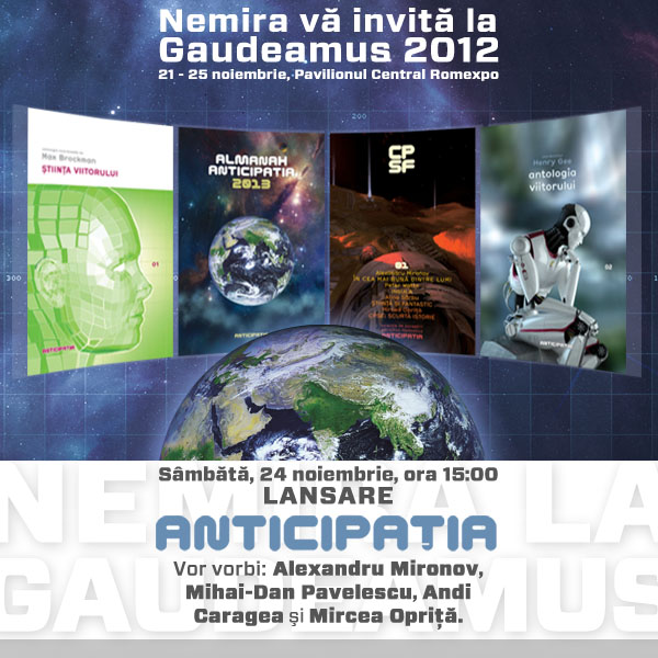 Invitatie lansare Aticipatia